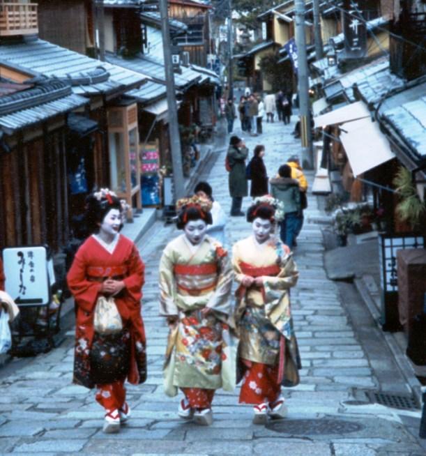 turiste a kyoto